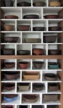 Display of pots at Isabelia