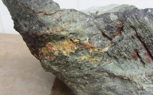 Final stone detail