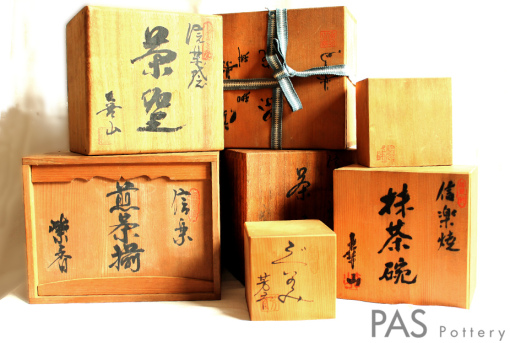 boxes-Japanese clays-PAS pottery-2014